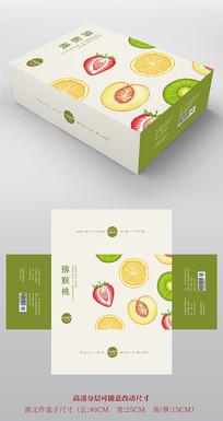 高檔簡約水果包裝設計