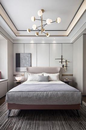 莫兰迪色卧室设计