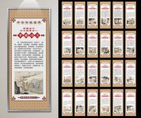 二十四孝文化宣传展板