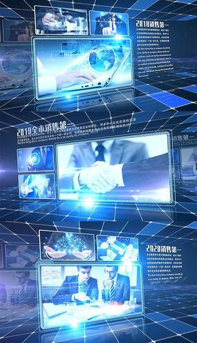 企业科技宣传多图展示时间轴B