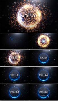 大气炫酷粒子爆炸开场AE模板