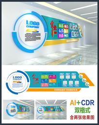 精品科技企业文化墙设计
