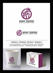 龍紫中文字體LOGO