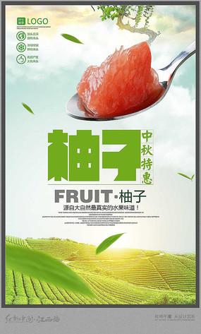 美味柚子海报设计