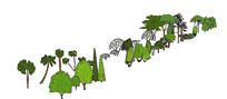 2d植物素材集合