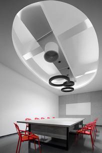 工业风loft工作室会议室