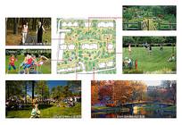 住宅小区景观意向图