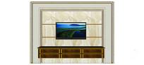 简洁欧式电视背景