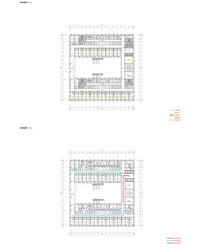 医院标准层房间布置图