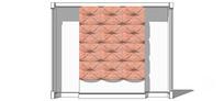 欧式小清新背景墙