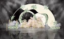 梦幻唯美婚礼效果图