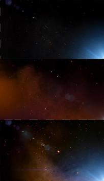 光效火花粒子背景视频素材