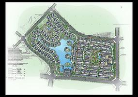 小区园林规划总图
