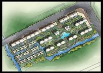 小区园林绿平规划设计