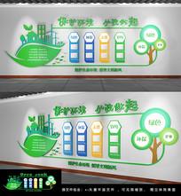 原创绿色环保科技企业文化墙
