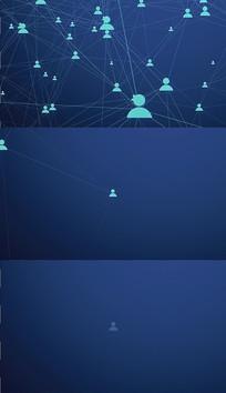 4K社交网络背景视频素材