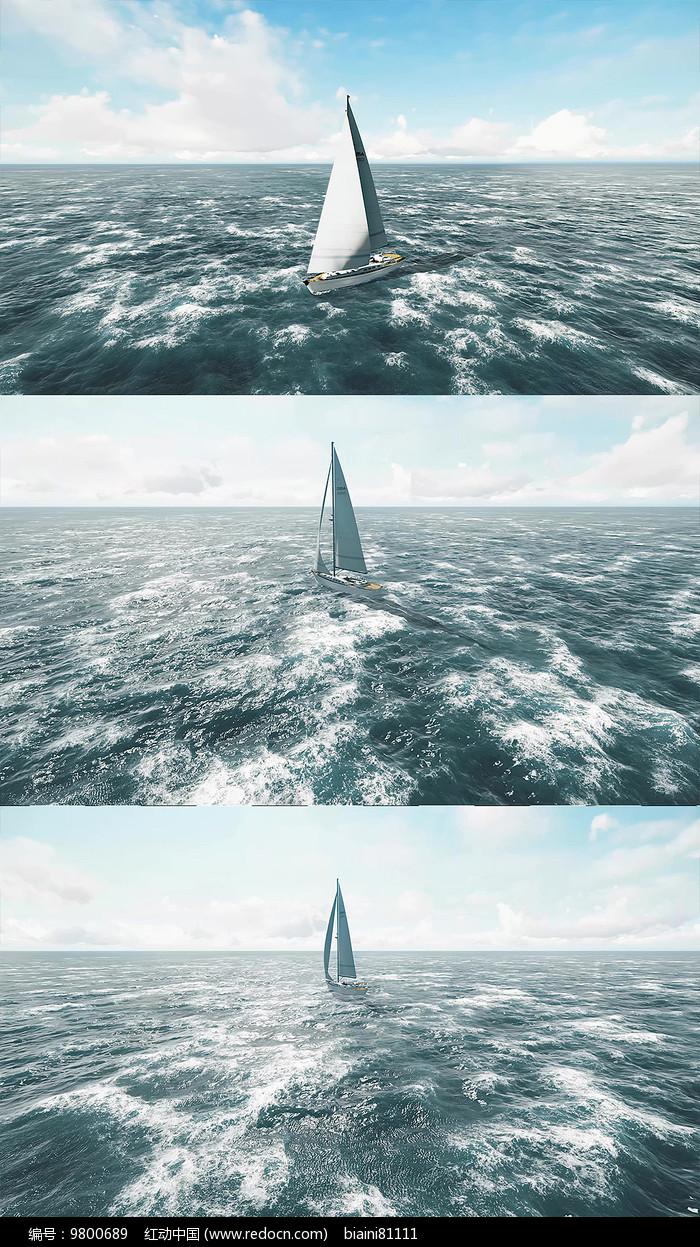 乘风破浪背景视频素材图片
