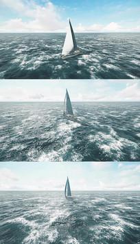乘风破浪背景视频素材
