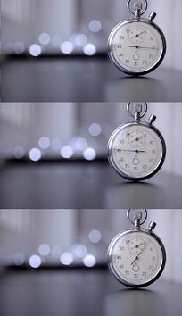 时钟转动实拍视频素材