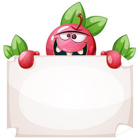 苹果卡通人物形象