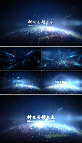 大气数字科技片头Logo演绎