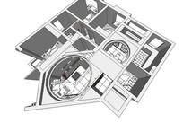 简欧室内装修模型