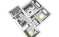室内装修场景模型