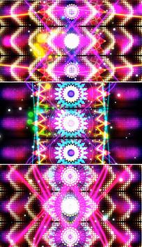 动感光线线条VJ视频万花筒