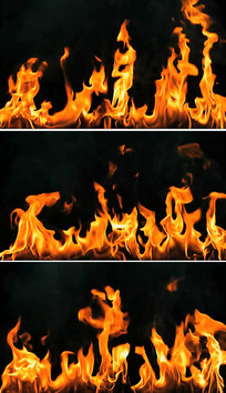 熊熊大火演出背景火焰背景