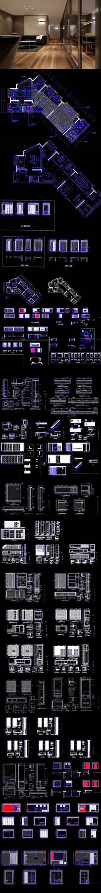 办公室CAD图纸