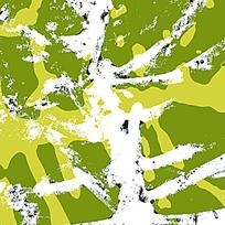 军绿迷彩花纹背景