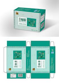 原创八马绿茶包装
