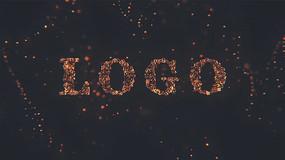 金属汇聚LOGO片头AE模板