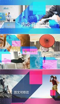 3组时尚图文宣传视频模板