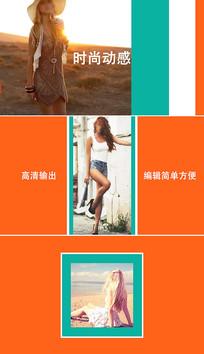 时尚写真相册视频ae模板