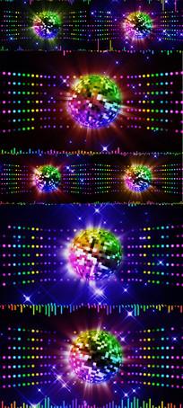 炫酷动感节奏晚会LED舞台视频背景