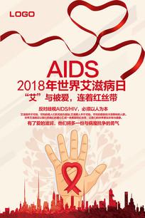 2018世界艾滋病日海报