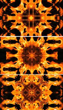 大气动感火焰烈火视频火焰祭祀
