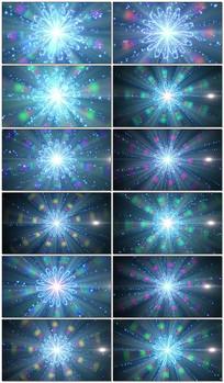 超炫全息花朵粒子LED视频