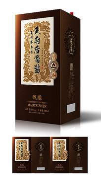 汉代复古文化白酒包装