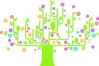 卡通植物插画图片