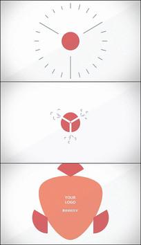 PR几何MG动画片头模板