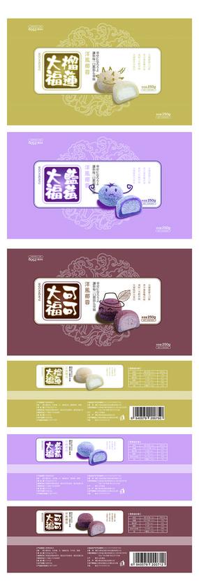 日本大福包装设计