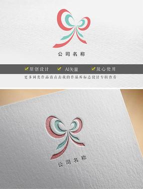美容美型蝴蝶标志设计