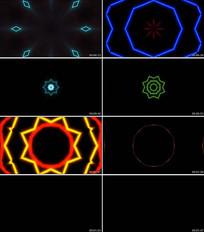 炫酷线条节奏视频迷幻动感背景