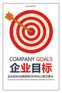 企业目标海报设计