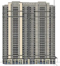 SKP超高层建筑模型