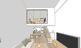 復式公寓3D