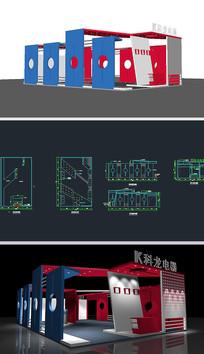 电器展厅草图大师SU模型