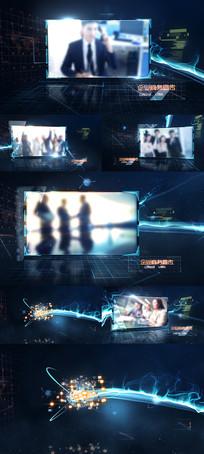 未来科技企业宣传片AE模板
